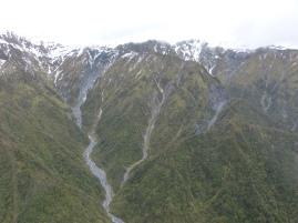 """Blick auf """"dreckige"""" Gletscher"""