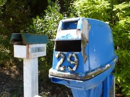 Ein etwas anderer Briefkasten