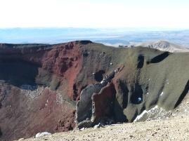Blick in den Krater