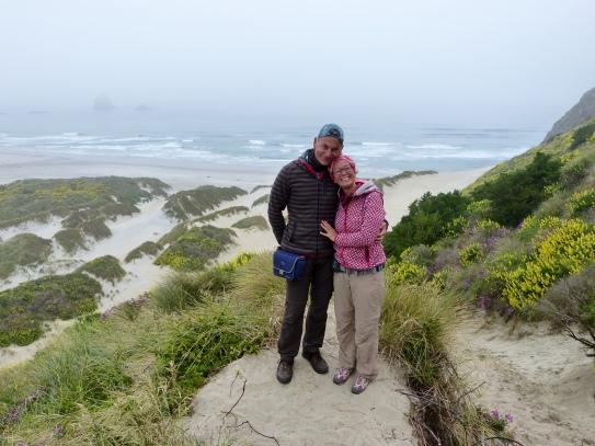 Diesig ist es am Sandfly Beach