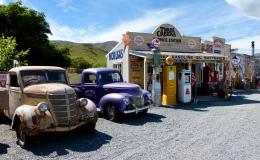 Nostalgie am Burkes Pass