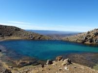 Emerald Lakes beim Tongariro Alpine Crossing