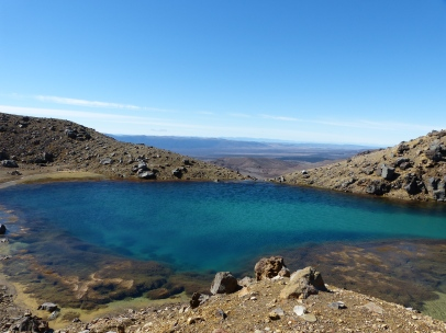 Emerald Lakes beim Tongariro Alpine Crossing