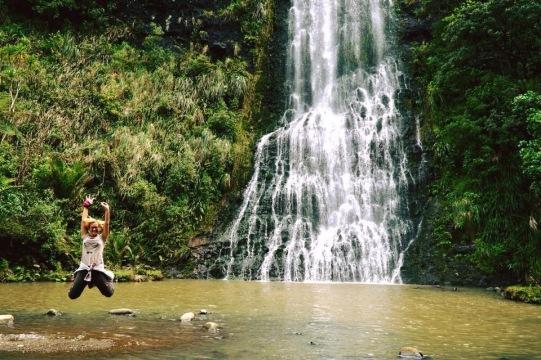 Karekare Wasserfall