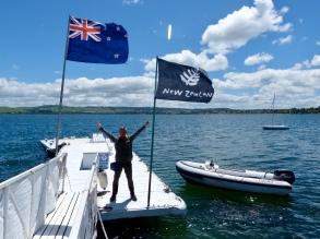 Wir sind in Neuseeland!