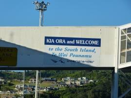 Willkommen auf der Südinsel