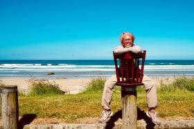 Kleine Pause am Strand