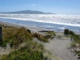 Letzter Strandbesuch auf der Nordinsel