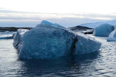 Eisberg in der Lagune