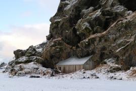 Alten Häuser von Drangshlíð