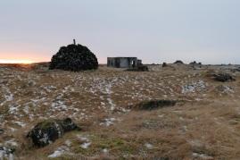 Morgenszene in Hópsnes