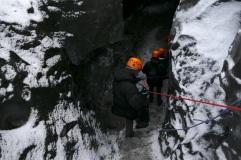 Rein in das White Walker Ice Cave