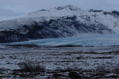 Ausläufe des Vatnajökull Gletschers