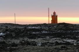 Leuchtturm in Hópsnes