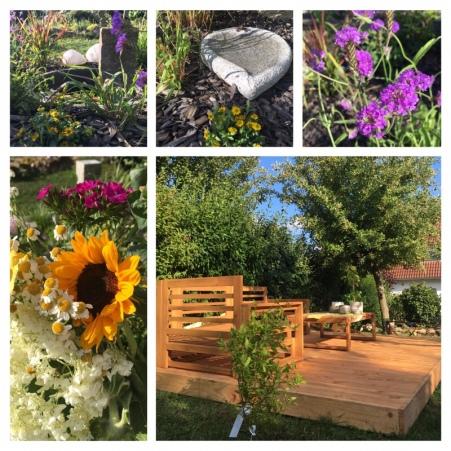 Ruhezone im Garten