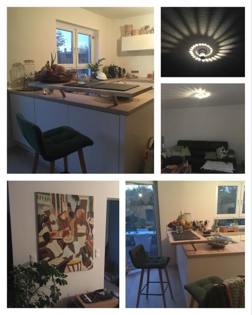 Die Küche ist aufgebaut