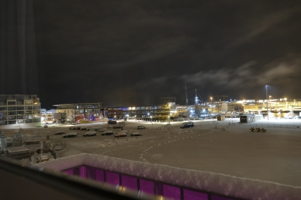 Blick aus dem Hotel Marina