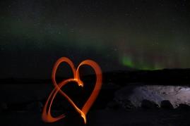 Ein Herz für's schöne Nordlicht