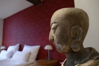 Der Mönch bewacht unseren Schlaf